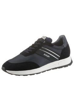 joop! sneakers linas hannis in de materiaalmix blauw