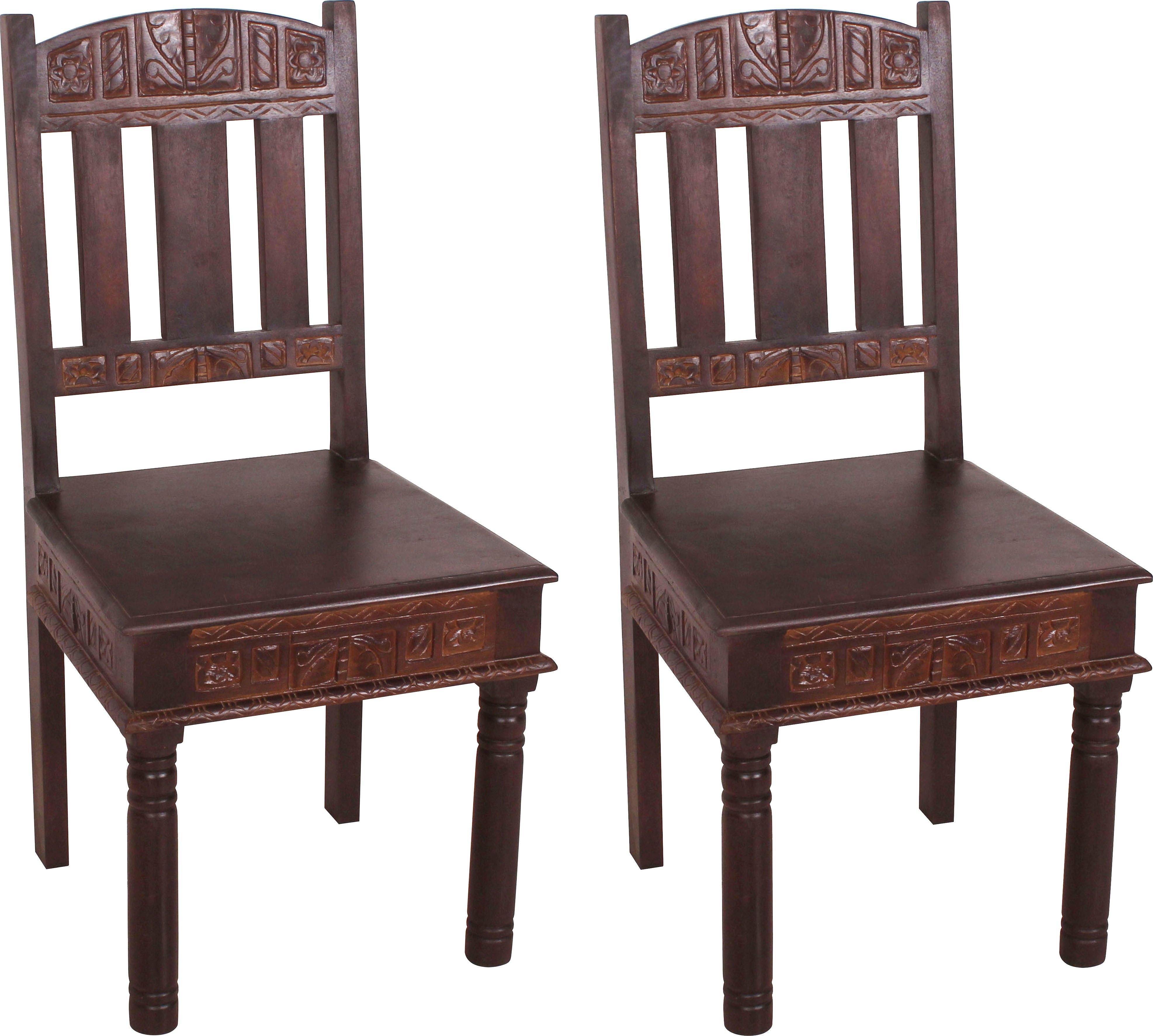 SIT stoel gemaakt van gerecycled afvalhout (set, 2 stuks) online kopen op otto.nl