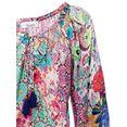 linea tesini by heine gedessineerde blouse om te strikken multicolor