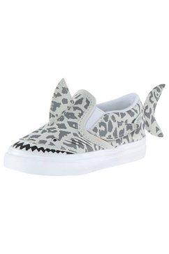 vans sneakers slip-on v shark grijs