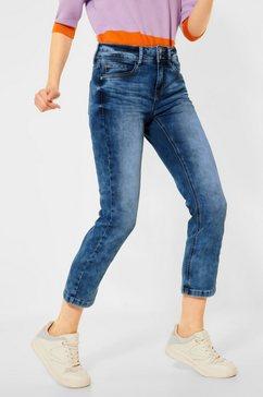street one 7-8 jeans 5-pocketsstijl blauw