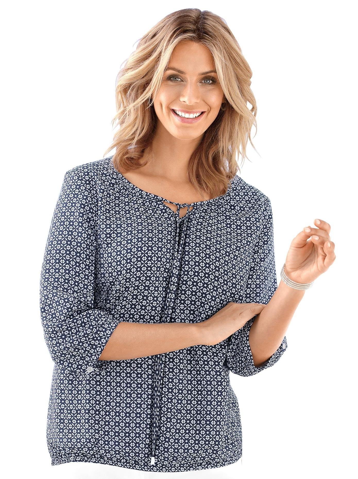 Classic Inspirationen gedessineerde blouse - gratis ruilen op otto.nl