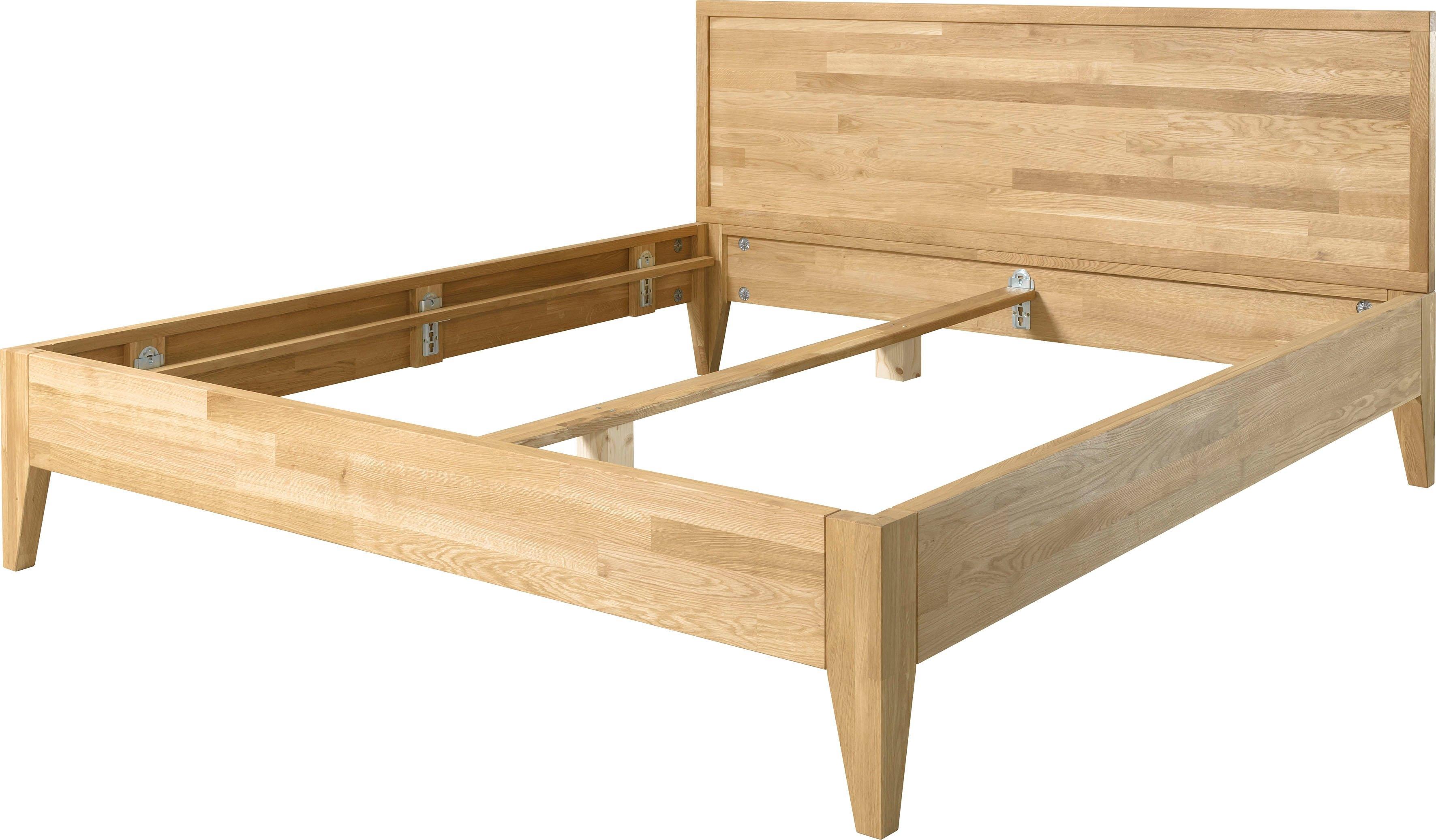 andas bed Runa van massief eikenhout, in verschillende ligoppervlakken te bestellen online kopen op otto.nl
