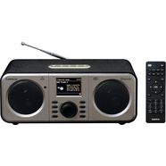 lenco radio »dir-140« radio (internetradio,digitalradio (dab+),fm-tuner, 6 watt) zwart