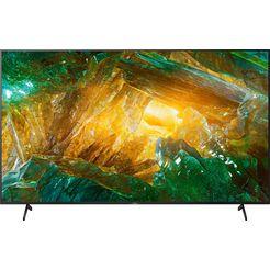 "sony led-tv kd-85xh8096, 215 cm - 85 "", 4k ultra hd, smart-tv zwart"