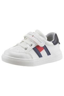 tommy hilfiger sneakers juice met een logo-opschrift wit