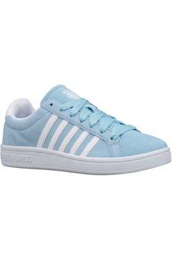 k-swiss sneakers court tiebreak sde w blauw
