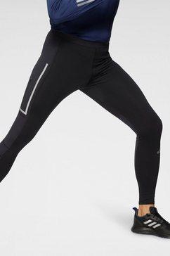 adidas performance runningtights adidas saturday warm running leggings men zwart