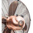 bestron staande ventilator dfs45sco goud