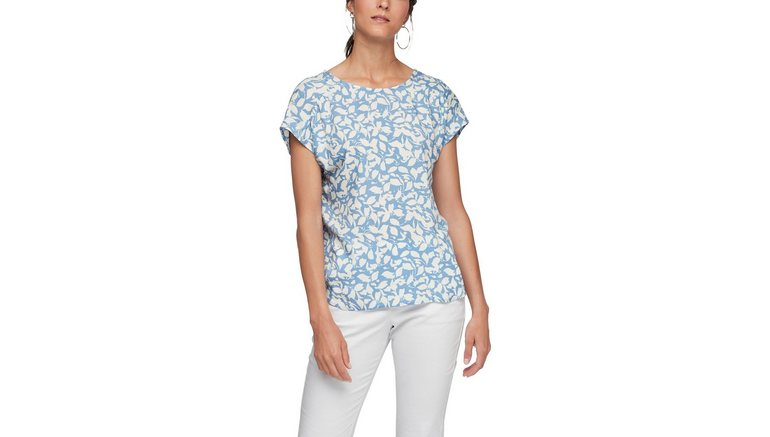 s.Oliver gedessineerde blouse