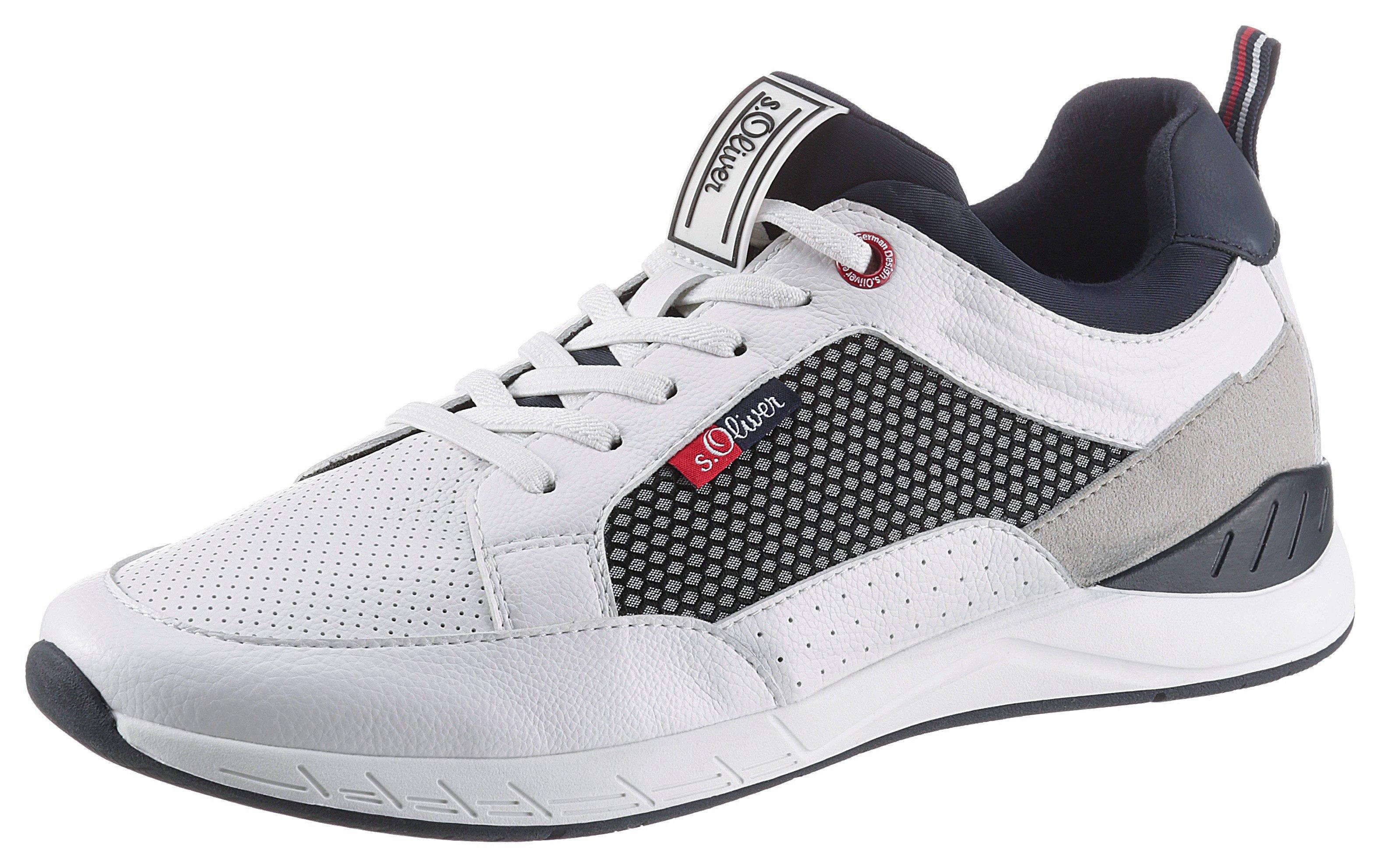 s.Oliver slip-on sneakers met contrastbeleg voordelig en veilig online kopen