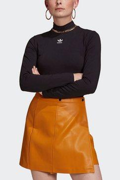 adidas originals shirt met lange mouwen »adicolor essentials longsleeve« zwart