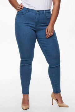 only carmakoma push-up jeans carstorm met push-up effect blauw