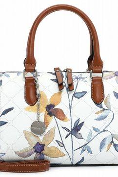 tamaris tas »bowlingbag anastasia flower« multicolor