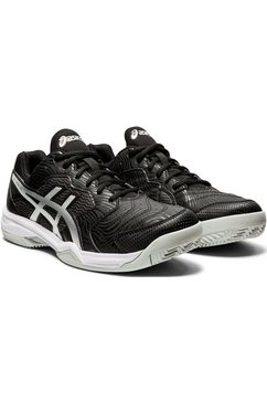 asics tennisschoenen »gel-dedicate 6 clay« zwart