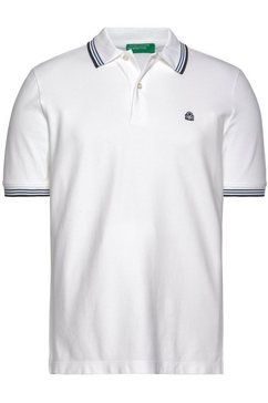 united colors of benetton poloshirt wit