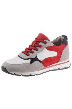 jana sneakers met een praktisch, verwisselbaar voetbed rood