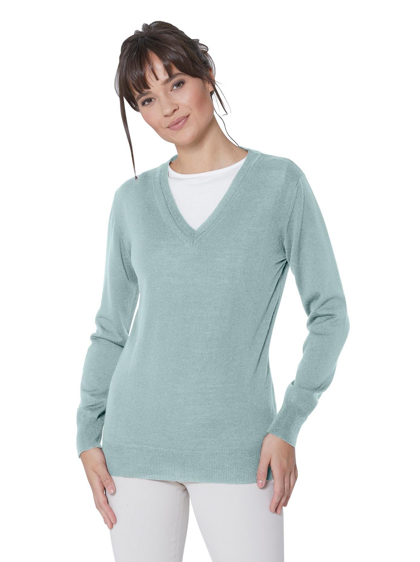 Casual Looks trui met V-hals Trui - verschillende betaalmethodes
