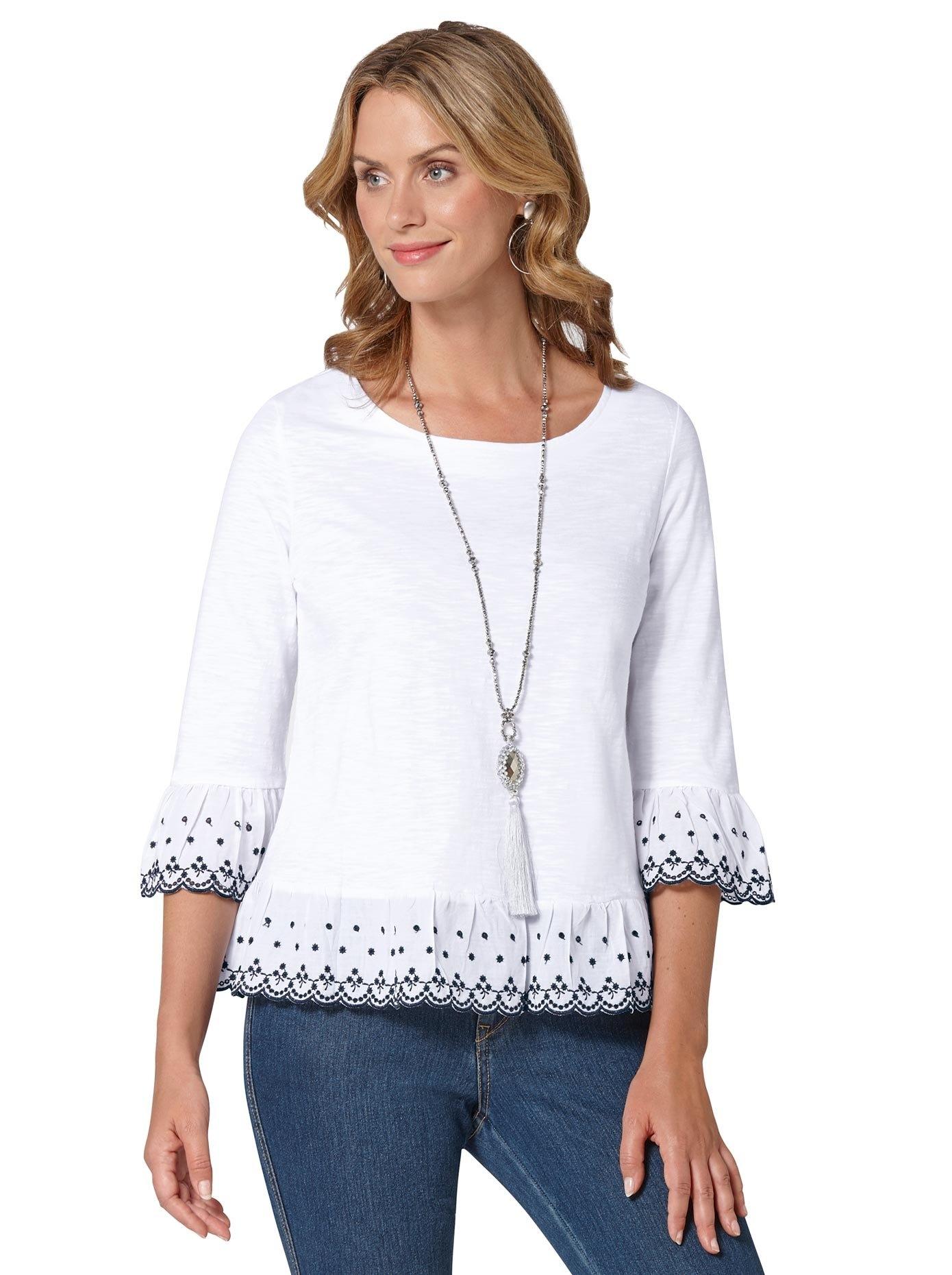 Ambria shirt met ronde hals veilig op otto.nl kopen