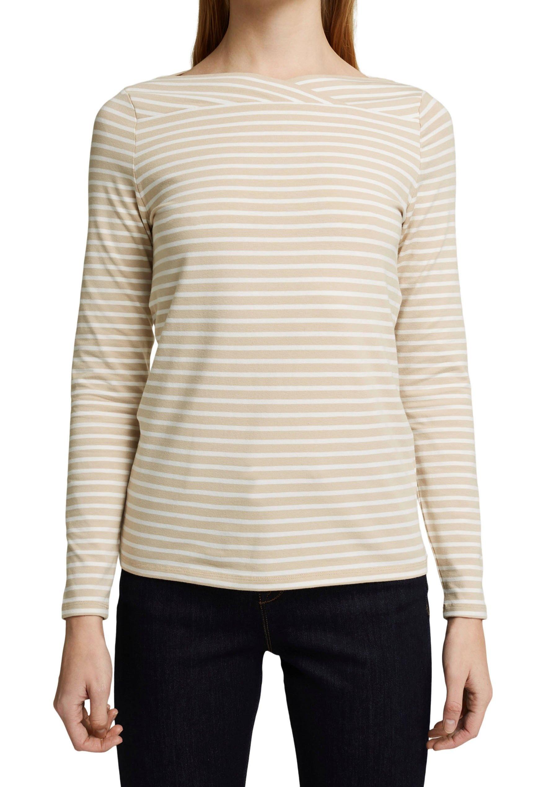 Esprit Collection Shirt met lange mouwen in gestreepte look veilig op otto.nl kopen