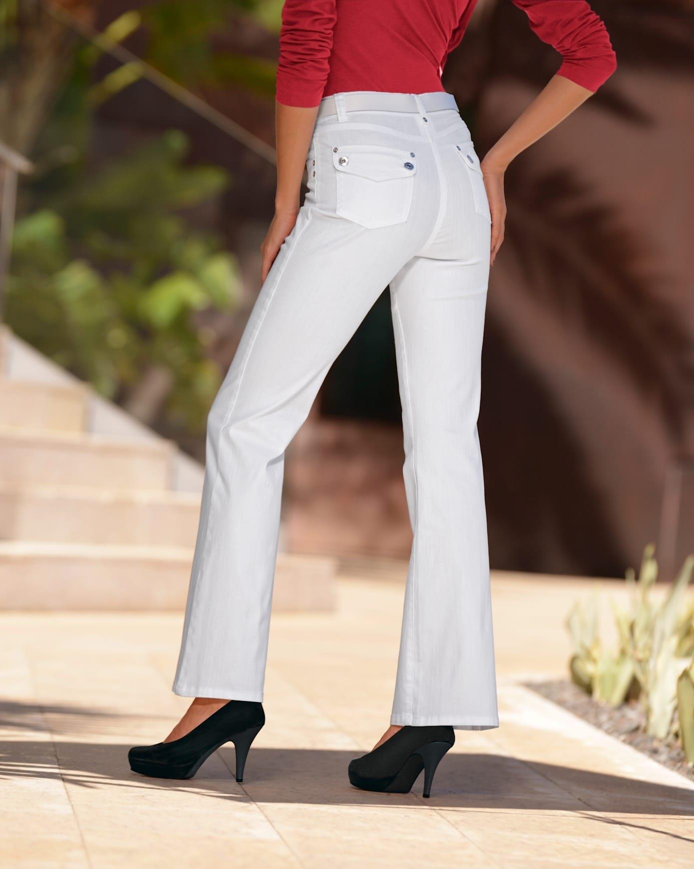 ASHLEY BROOKE by Heine bootcut jeans bestellen: 30 dagen bedenktijd