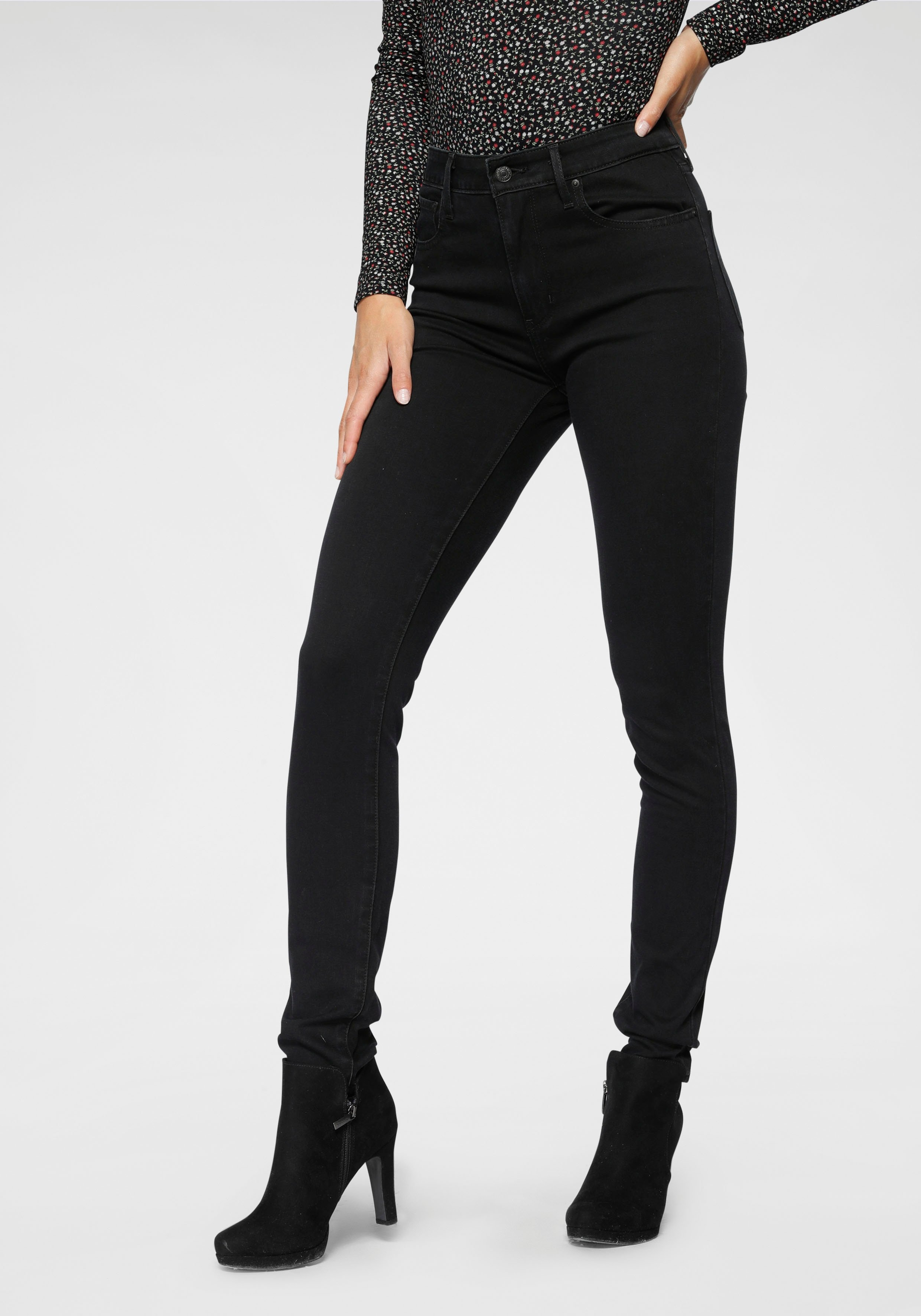 Levi's skinny fit jeans »721 High rise skinny« - gratis ruilen op otto.nl