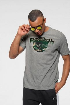 reebok classic t-shirt »cl gp we tee« grijs