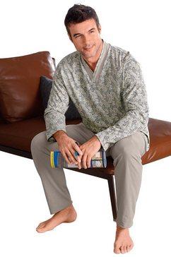 goetting pyjama van puur katoen grijs