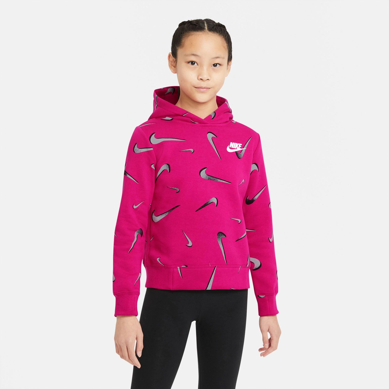 Nike Sportswear Nike hoodie »Nike Sportswear (2) Big Kids' (girls') Printed Hoodie« voordelig en veilig online kopen