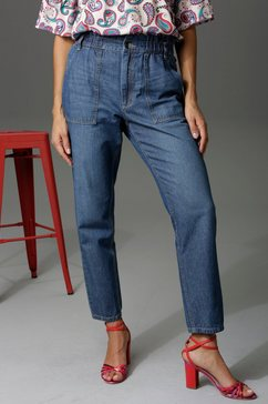 aniston casual loose fit jeans blauw