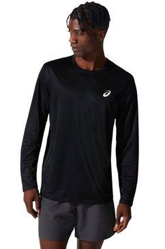 asics shirt met lange mouwen core ls top zwart
