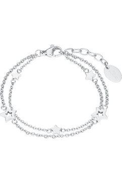 s.oliver junior edelstalen armband »sterne, 2027453« zilver