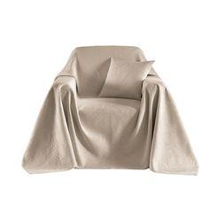 foulard voor fauteuil wit