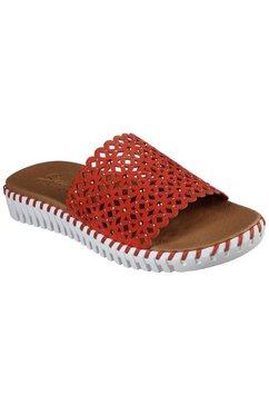 skechers slippers »sepulveda - dahlia« oranje