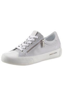 candice cooper sneakers met ritssluiting opzij grijs