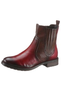 bugatti chelsea-boots »ronja« rood