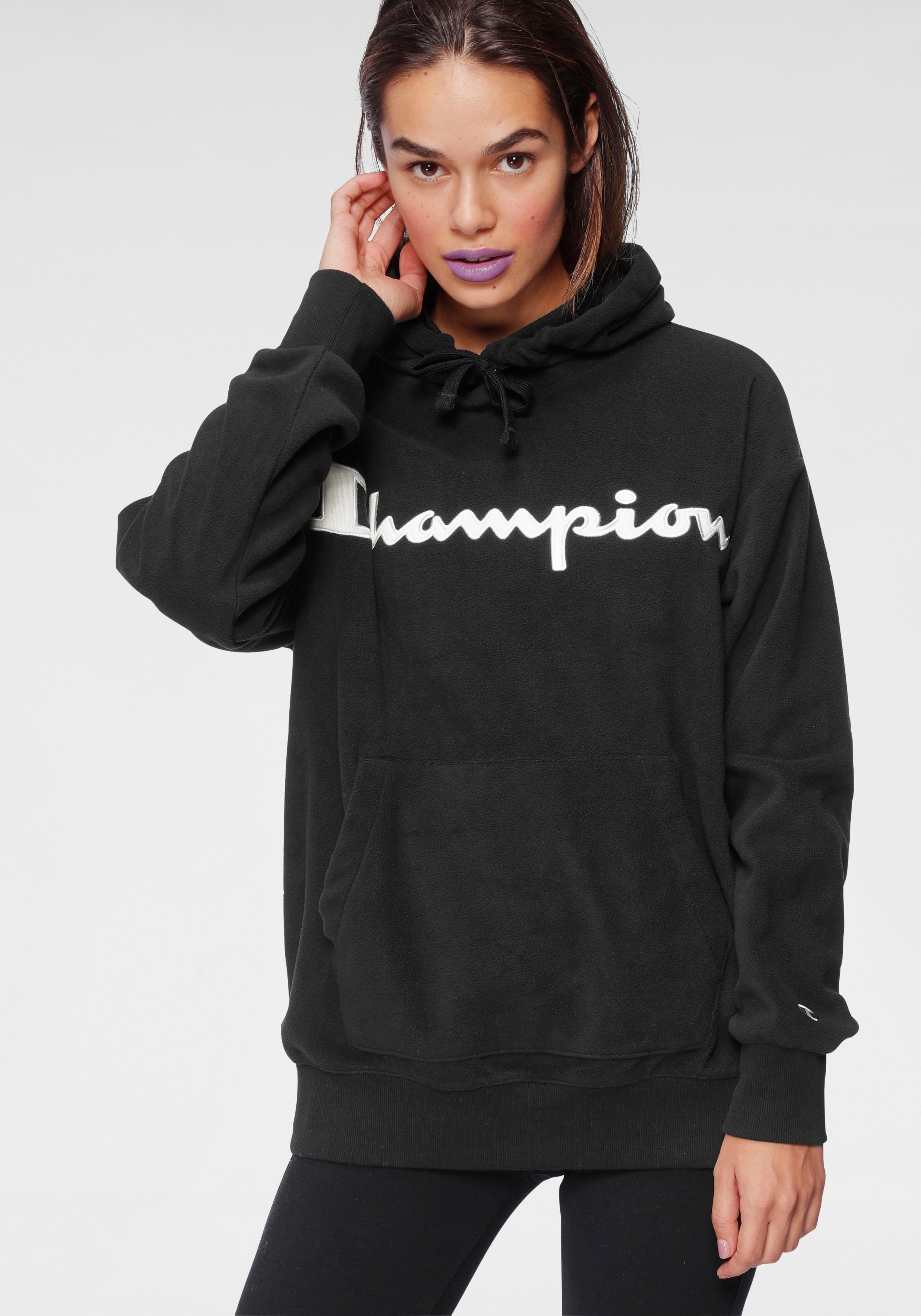 Champion hoodie Hooded sweatshirt van polarfleece in de webshop van OTTO kopen