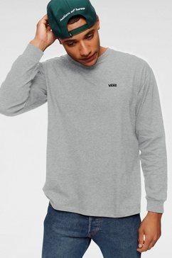 vans shirt met lange mouwen left chest hit ls grijs