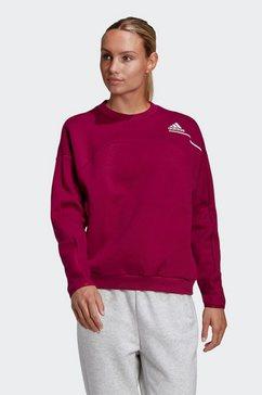 adidas performance sweatshirt adidas z.n.e. paars
