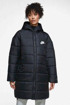 nike sportswear parka w nsw tf rpl classic hd plus zwart