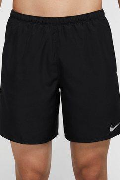 "nike runningshort nike challenger men's 7"" brief-lined running shorts zwart"