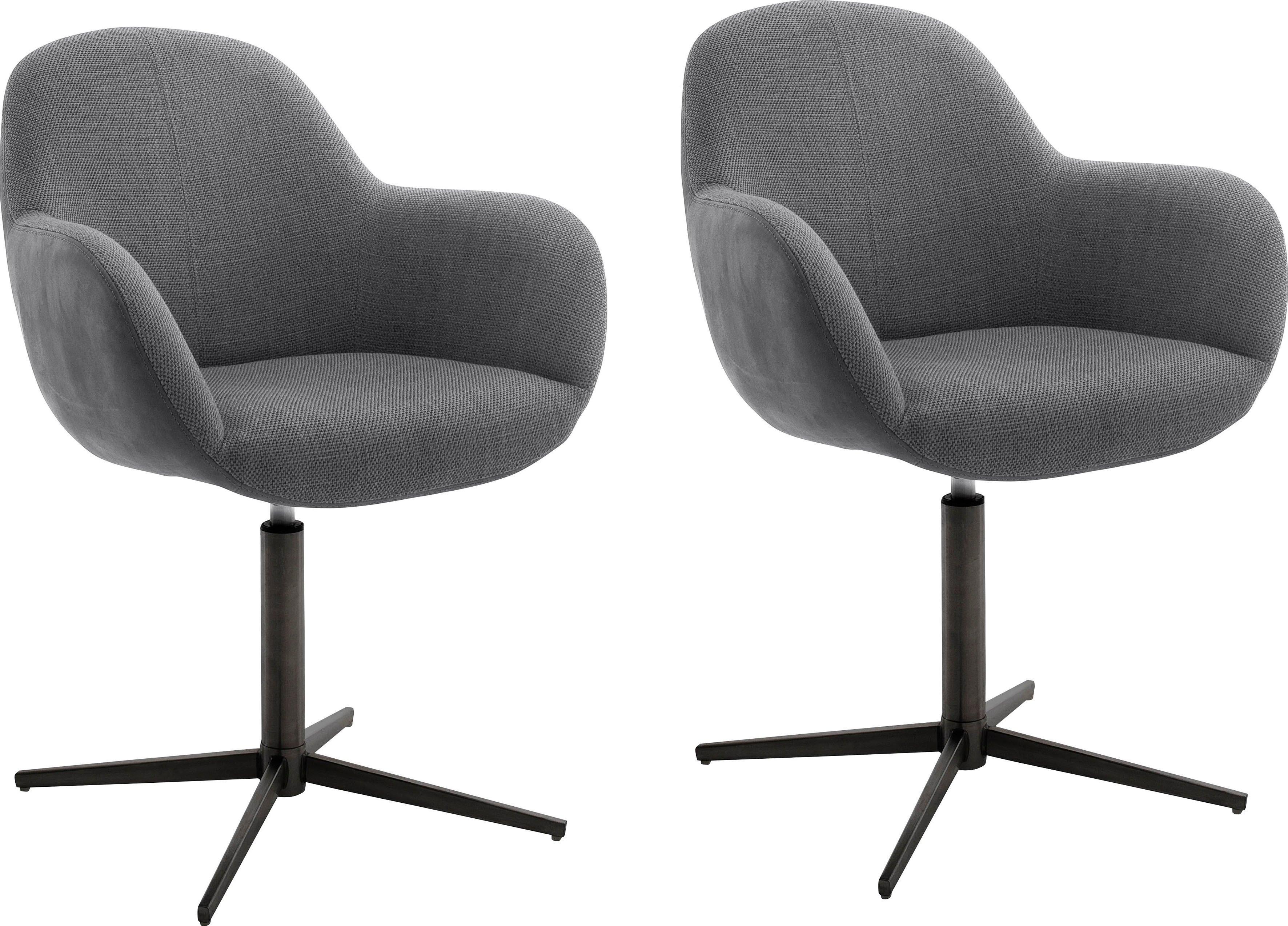 MCA furniture Eetkamerstoel MELROSE Stoel 360º draaibaar met nivellering (set, 2 stuks) online kopen op otto.nl