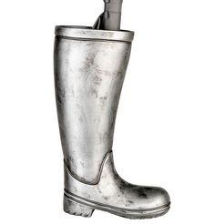 casablanca by gilde paraplustandaard paraplubak laarzen, zilverkleur (1 stuk) zilver