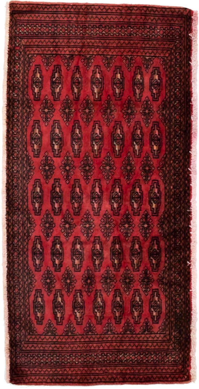 Op zoek naar een morgenland wollen kleed Turkaman Teppich handgeknüpft rot? Koop online bij OTTO