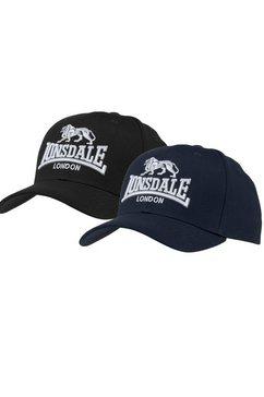 lonsdale baseballcap »wiltshire« zwart