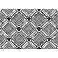 queence set placemats ps0159 (set, 4 stuks) wit