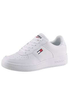 tommy jeans sneakers »tommy jeans basket cupsole« wit