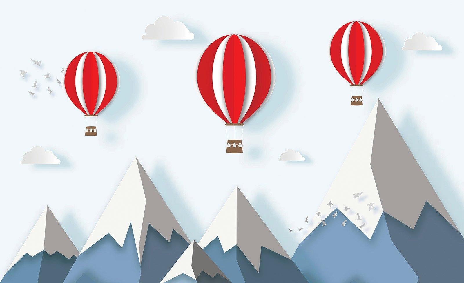 Consalnet vliesbehang »Kindermotiv Ballon« goedkoop op otto.nl kopen