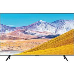 samsung »gu43tu8079« led-tv zwart