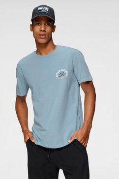 quiksilver t-shirt »blue heaven dream sessions« blauw